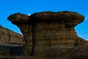 Avonlea Badlands - Fat Hoodoo and the Moon